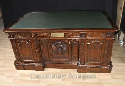 Mahogany Presidents Desk Resolute Partners Desk