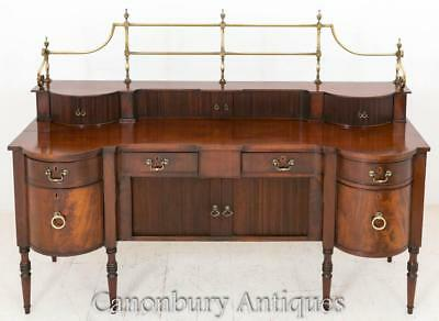 Scottish Regency Mahogany Sideboard Buffet Server