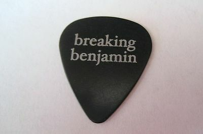 Rare Breaking Benjamin Black Guitar Pick