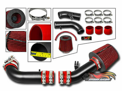 MATTE AIR INDUCTION INTAKE + DRY FILTER For 99-05 Miata MX5 Roadster NB 1.8L