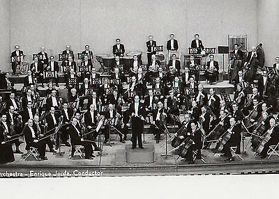 SAN FRANCISCO SYMPHONY ORCHESTRA Jorda Conductor ORIG PHOTO Tuba French Horn