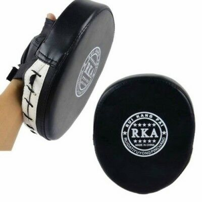 1x Boxing Mitt MMA Target Focus Punch Pad Training Glove Pugilism Thai Kick Muay