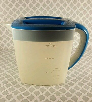 Mr. Coffee Blue 3 Qt. Iced Tea Pitcher - Pitcher Only