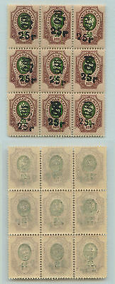 Armenia, 1920, SC 155, MNH, block of 9. f811