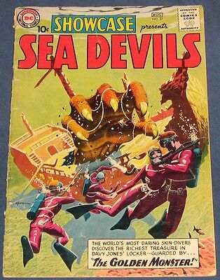 Showcase #27  Aug 1960  Sea Devils  Russ Heath Cover