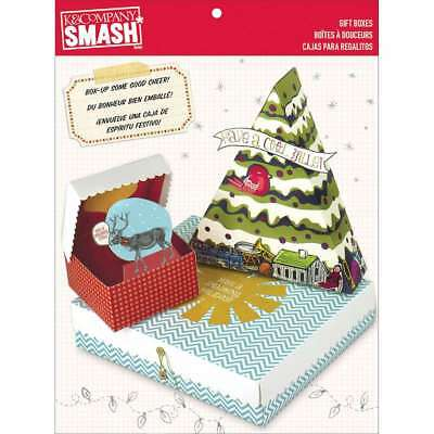 SMASH Gift Boxes 3/Pkg Seasonal 643077678965
