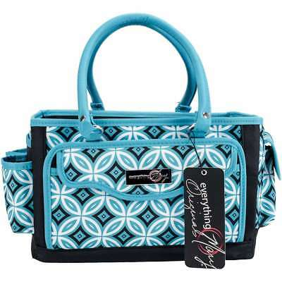 Everything Mary Papercraft Organizer Teal/Black 812259054044