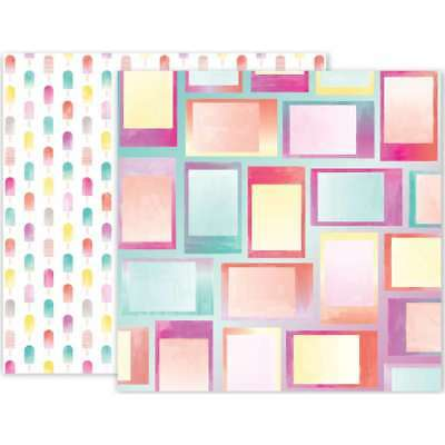 "Summer Lights Double-Sided Cardstock 12""X12"" #07 718813102599"