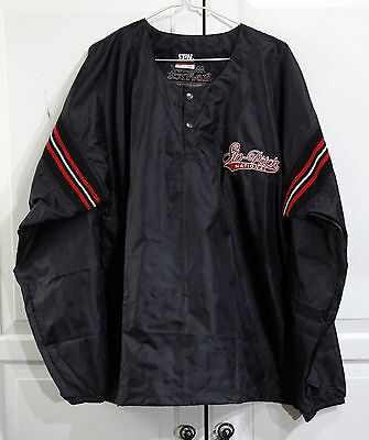 Molson SLO-PITCH NATIONAL Pull-Over JACKET Shell Men's M / L Black, NEW w/o tag