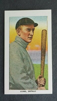 Ty Cobb Detroit Tigers 1909 T-206 reprint Baseball Card