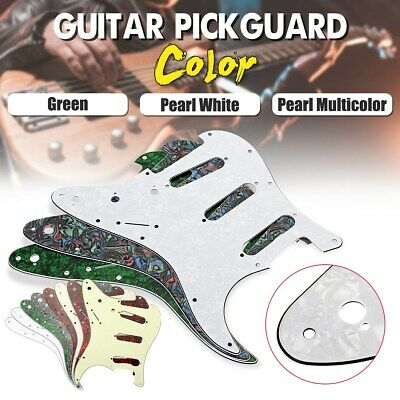 Stratocaster 3ply 11-Hole Scratchplate Pickguard SSS to fit Fender USA/MEX Strat