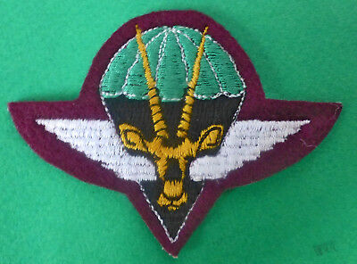 2 South West Africa  Parachute Airborne Unit Border War Para Wings Beret Badge