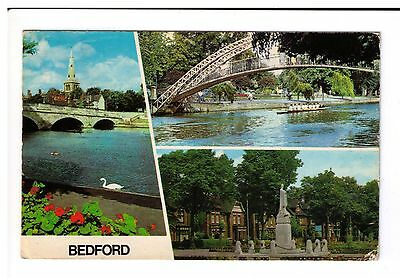 Postcard: Multiview - Bedford