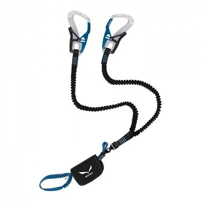 Salewa Set Via Ferrata Ergo Tex silver/royal blue Klettersteig-Set leicht