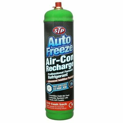 STP Auto Freeze Car Air Conditioning Recharge Cylinder - 532ml