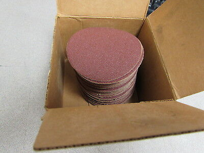 "New Superior Abrasives PSA Cloth Discs #11424 3"" Box of 50"