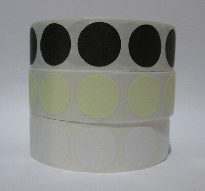 3/4 Self-Adhesive Target Pasters / stickers 1000 pasters per roll (roll ony)