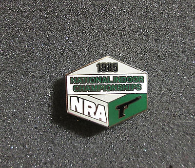 1985 NRA National Indoor Championships Pistol  Pin