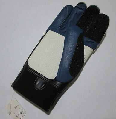 Large Right Hand Sauer 325 Strong Close Fingers Leather Shooting Glove