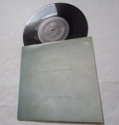 Joy Division,love Will Tear Us Apart / These Days,factory Uk 1St Press,fac23