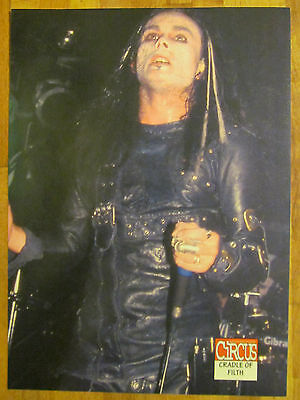 Cradle of Filth, Danni Filth, Full Page Pinup