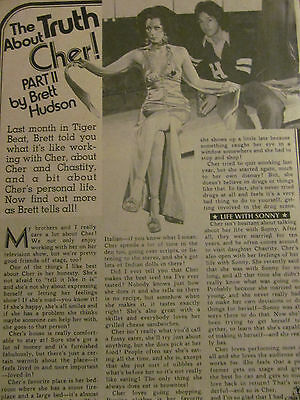 Cher, Full Page Vintage Clipping