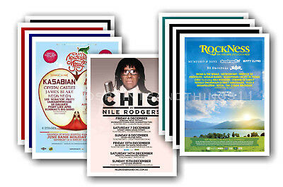 CHIC - 10 promotional posters - collectable postcard set # 1
