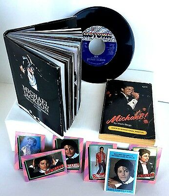 Michael Jackson Books, Pictures, Record & Card Collection for Fans