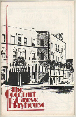 """Russell Nype SIGNED Playbill """"No, No, Nanette"""" 1974 Miami- Helen Gallagher"""
