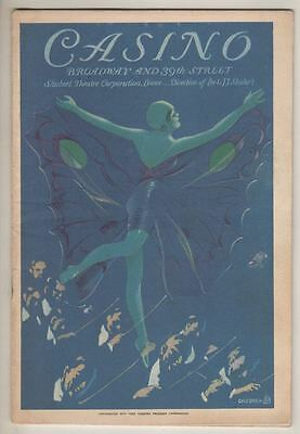 "Evelyn Herbert  ""The New Moon""  Playbill  Broadway 1929 Sigmund Romberg"