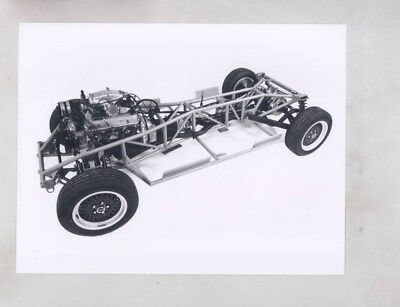 1985 TVR 380SE Rolling Chassis ORIGINAL Factory Photograph & Press Sheet wy6685