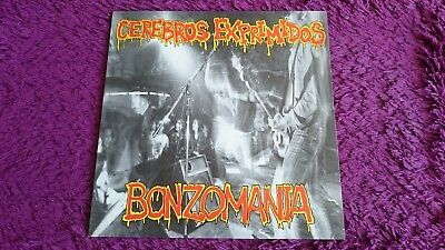 Cerebros Exprimidos ‎– Bonzomania , Vinyl, LP, 1991 , Spain , MR 016