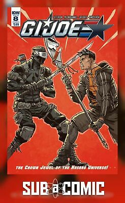 GI JOE #8 COVER A CONLEY (IDW 2017 1st Print) COMIC