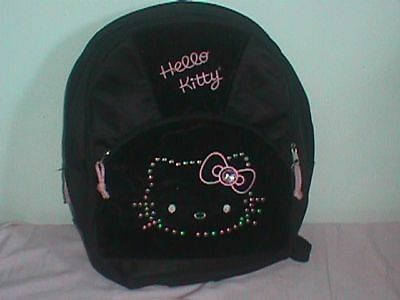HELLO Kitty BOOK Bag SCHOOL Backpack Sparkle