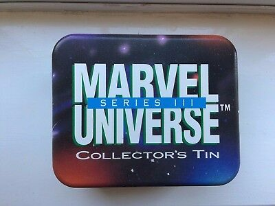 Marvel Universe Collectors Tin & Cards **Series 3** Limited 10,000 (Very Rare)