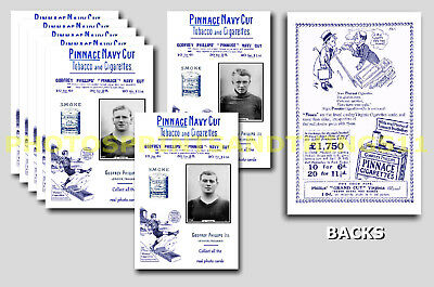 CLYDE - REPRO 1920's PINNACE A6 ADVERT CARDS - SET OF 18