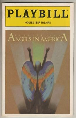"""Angels In America: Perestroika""   Playbill  1994  Broadway"