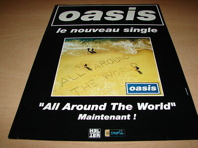 Oasis - All Around The World!!!!!!rare French Press/kit