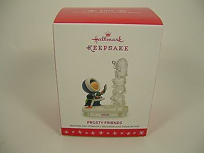 Hallmark 2016 Frosty Friends Series Ornament Dated