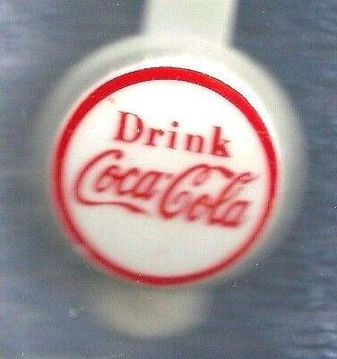 Advertising  Bottle Cap Topper  Drink Coca Cola  Red Ring