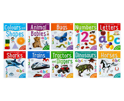 Wipe Clean Learn To Write 10-Book Collection