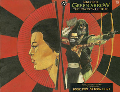 GREEN ARROW THE LONG BOW HUNTERS #2 VF/NM, 2nd print, Mike Grell, DC Comics 1987