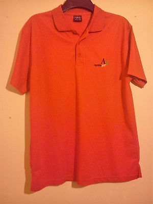 Aguilon Golf Red Polo Shirt Ag Size Xl Makito Tecnic Excellent Condition Golfing