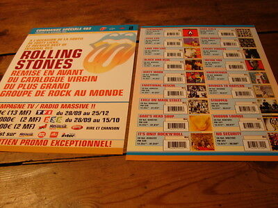 Rolling Stones !!!!discography!!!!rare French Press/kit
