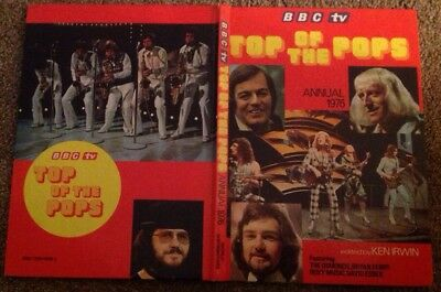 Top of the Pops Annual 1976 Vintage BBC TV Pop Music Nostalgia Hardback