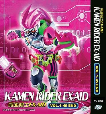 KAMEN RIDER EX-AID | Episodes 01-45 | English Subs | 4 DVDs (VS0288)