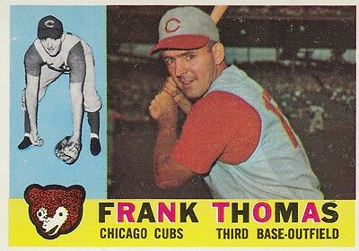 Topps 1960 #95 Frank Thomas-Chicago Cubs
