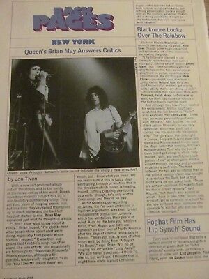 Queen, Full Page Vintage Clipping
