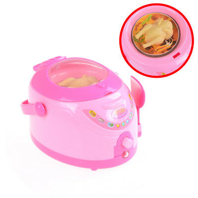 Mini Electric Rice Cooker Pretend Play Toys Simulation Kitchen Appliances Toy