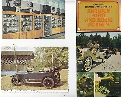 Stone Mountain Antique Auto & Music  Museum Postcards And Advertising  #1